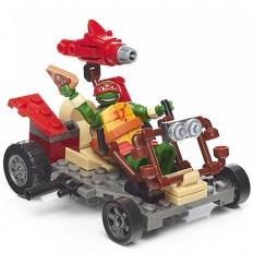 Mattel Mega Bloks DPF60 Мега Блокс Черепашки Ниндзя: лихие гонщики