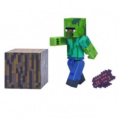 Minecraft 16489 Майнкрафт фигурка Zombie Villager