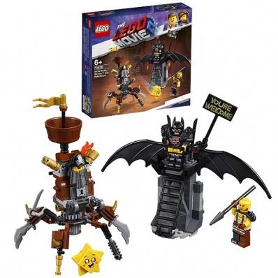 Lego Movie 2 70836 Конструктор Лего Фильм 2 Боевой Бэтмен и Железная борода