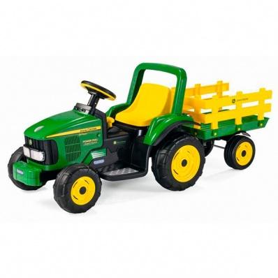 Детский электромобиль Peg-Perego ED1167 JD Power Pull Tractor