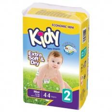 Kidy подгузники 2 (3-6 кг) 44 шт.