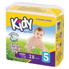 Kidy подгузники 5 (11-25 кг) 28 шт.
