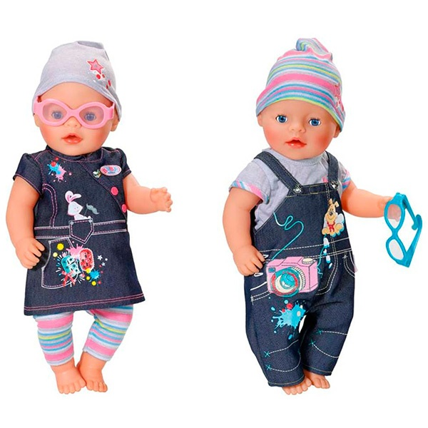 Беби борн одежда для куклы мальчика 89
