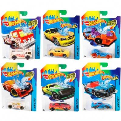 """Hot Wheels BHR15 Хот Вилс Машинки """"COLOR SHIFTERS"""" в ассортименте"""