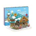 Cubic Fun P649h Кубик фан Рождественский домик 3 (с подсветкой)
