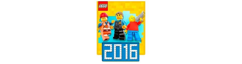 Новинки LEGO 2016